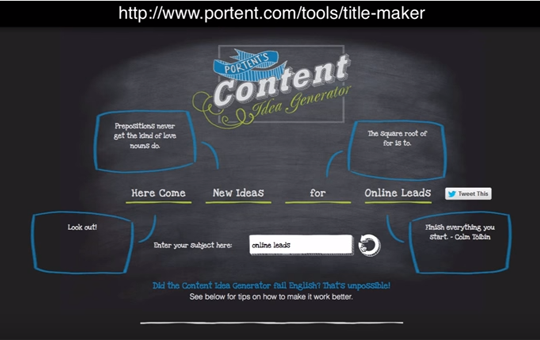 6 Free Online Tools for Coming Up with Tons of Online Content Ideas