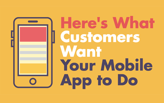 Here's What Customers Want Your Mobile App to Do