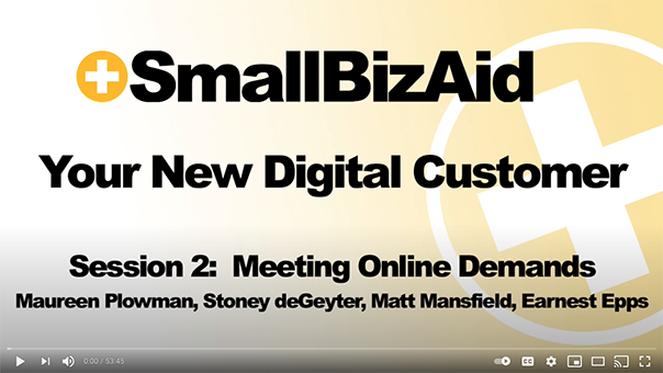 SmallBizAid Webinar